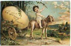 Vintage German easter Postcards - Bing Images