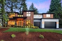 Plan 23845JD: Deluxe Contemporary House Plan With Two Story Great Room
