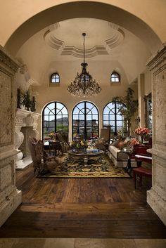 Tuscan design – Mediterranean Home Decor Beautiful Interiors, Beautiful Homes, Style Villa, Italian Home Decor, World Decor, Italian Villa, Tuscan House, Mediterranean Home Decor, Mediterranean Architecture