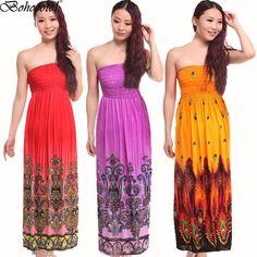 Womens Ladies Army Floral Print Bodycon Boobtube Bandeau Strapless Midi Dresses