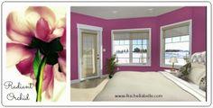 Radiant Orchid: Edmonton Interior Decorator/ Rachel Schofield