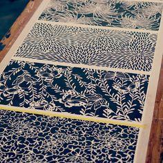 Japanese textiles Tissus japonais Japon / Japan                                                                                                                                                      More