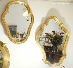 Pareja de espejos de estilo frances Genoves Atelier