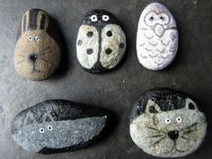 After School Craft Club  Painted Pebbles by Silly Lily   Project   Home Decor / Decorative   Kollabora