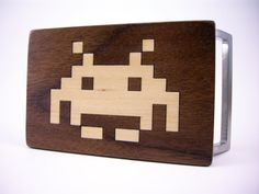 Space Invaders #Belt #Buckle by Stump Industries ($19)