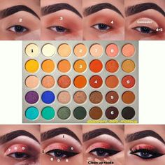 New makeup tutorial jaclyn hill palette Ideas - Make Up Makeup Eye Looks, Eye Makeup Steps, Skin Makeup, Makeup Brushes, Makeup Remover, Sleek Makeup, Jaclyn Hill Palette, Jaclyn Hill Eyeshadow Palette, Jacklyn Hill Palette Looks