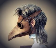 Why Is Steampunk Plagued by Plague Doctors? « Steampunk R&D :: WonderHowTo Steampunk Armor, Steampunk Bird, Steampunk Cosplay, Plague Mask, Plague Doctor Mask, Dystopia Rising, Doctor Costume, Bird Masks, Leather Mask