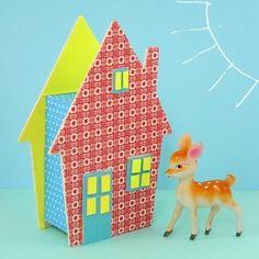 Maison tirelire idées DIY - La Fabrique du Canari