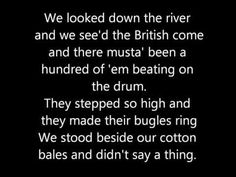 Johnny Horton - Battle of New Orleans Lyrics - YouTube ~ https://www.youtube.com/watch?v=VL7XS_8qgXM