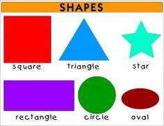 Resultado de imagen de shape for kids