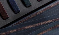 Ermenegildo Zegna  Made to Measure bespoke fabrics shirts cufflinks and buttons.