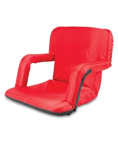 Look at this Picnic Time Red Ventura Seat on #zulily today!