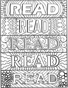 Funky Design Bookmarks to Color Free Printable Bookmarks, Bookmark Template, Bookmarks Kids, Coloring Sheets, Coloring Books, Teacher Birthday Card, Preschool Library, Coloring For Boys, Printable Adult Coloring Pages