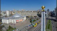 Victory Square in Kiev, Ukraine - http://bestdronestobuy.com/victory-square-in-kiev-ukraine/