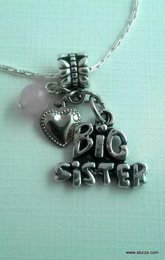 """""""Big Sister"""" Neckalce. Starting at $1 on Tophatter.com!"""