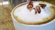 Grumpy Cat 3D latte art