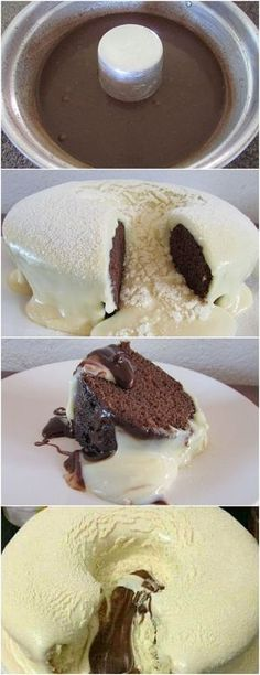 BOLO VULCÃO DE LEITE EM PÓ…QUANDO EXPERIMENTAR SÓ VAI QUERER ESSE!! VEJA AQUI>>>Em um recipiente, coloque os ovos, o açúcar e o leite em pó, misture bem Em uma panela, adicione 1 xícara de água e 1 xícara de óleo, reserve #receita#bolo#torta#doce#sobremesa#aniversario#pudim#mousse#pave#Cheesecake#chocolate#confeitaria