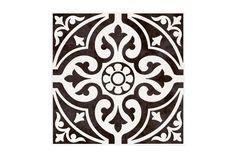 Devon Stone Black Feature Floor Tile 33x33cm