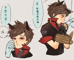 tracer is the talon's pet~ 【follow me on twitter for fastest art update:twitter.com/BJMAKI】
