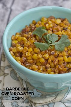 BBQ Oven Roasted Corn