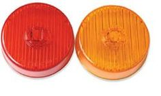 PC Rated Marker Lights | 2.5 Inch Marker Lights