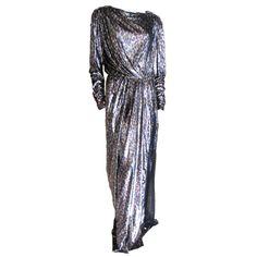 1stdibs - Yves Saint Laurent Haute Couture silk  velvet leopard dress explore items from 1,700  global dealers at 1stdibs.com