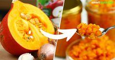 Wenn du schon genug Kürbissuppe gegessen hast, dann probiere doch mal dieses Rezept für pikantes Kürbis-Apfel-Chutney für viele Gelegenheiten!