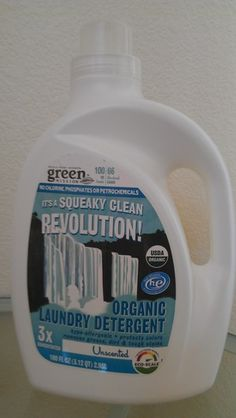 MI/MCI-free! Whole Foods Brand Laundry Detergent