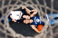 Love and Basketball themed Engagement Session | Portland, Or