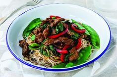 The Healthy Mummy shares the recipe for this tasty Chinese Beef And Snow Pea Stir Fry. The perfect 'healthy takeaway' meal to share with your family. Healthy Mummy Recipes, Healthy Chinese Recipes, Stir Fry Recipes, Asian Recipes, Beef Recipes, Cooking Recipes, Ethnic Recipes, Recipies, Healthy Takeaway