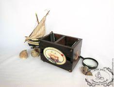 Декорируем деревянную подставку «Фрегат» - Ярмарка Мастеров - ручная работа, handmade