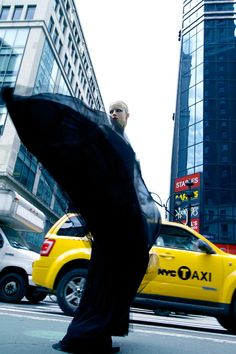 Charlie Paille by Antia Pagant in New York State of Mind for Fashion Gone Rogue. Outstanding fashion pose.