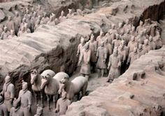 archaeology china | China's army of terracotta soldiers are buried in the ancient Chinese ...