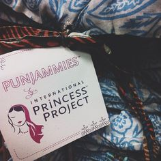 Love this photo of our PUNJAMMIES from @Jennifer Chong! Thanks for helping spread our message of hope for women brought out of forced prostitution!!