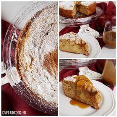 Μηλόπιτα Κέικ Γιαουρτιού Eat Greek, Yummy Cakes, Camembert Cheese, Sweet Tooth, French Toast, Deserts, Sweets, Cooking, Breakfast