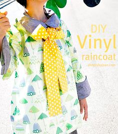 diy raincoats - this site has a LOT of other great tutorials as well!