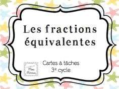 Dropbox - Link not found Fractions Équivalentes, Cycle 3, Study Methods, Math Numbers, Classroom Organization, Classroom Ideas, Math Class, Number Sense, Teaching Math