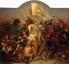 The Battle of Patay saw English forces under the command of Sir John Falstaff defeated by Joan of Arc's French troops, on this day in British history, 18 June 1429. The English defeat was decisive, and helped turn the tide of the Hundred Years' War in favor of France.