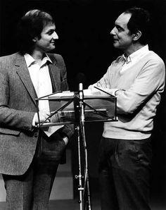 Salman Rushdie e Italo Calvino