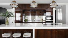 9 The Park Crescent - Oliver Burns Glass Pendants, Design Projects, Burns, Kitchen Designs, Kitchens, Copper, Interiors, Furniture, Park