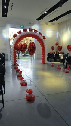 wedding decor by Heavenly Engagements - Salvabrani Dance Decorations, Quinceanera Decorations, Balloon Decorations Party, Wedding Decorations, Valentines Balloons, Valentines Day Decorations, Birthday Decorations, Wedding Balloons, Wedding Stage
