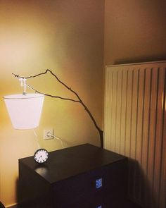 handmade wooden floor lamp by NaturaLiciousShop on Etsy