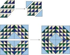 """ocean waves quilt pattern tutorial - on the """"to do"""" list"""