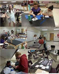 Junior High TLC Students @ZuniHillsTLC prepare for Fiesta Bowl STEM, @PeoriaUnified11, @WestMEC