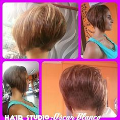 classic inverted/ A- line bob cut