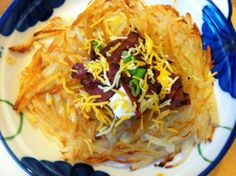 Loaded Hash Browns | Cooking with a Wallflower