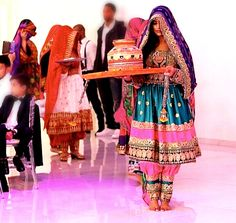 #afghan #style #dress #wedding #henna #ceremony