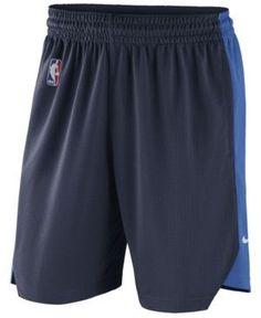 Nike Men's Oklahoma City Thunder Practice Shorts - Navy/Blue XXL