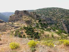 Ruins of Bagras Castle on the Nur (Amanos) Mountains near İskenderun Temple, Republic Of Turkey, As Time Goes By, Fortification, World War One, Knights Templar, 12th Century, Moorish, Places Around The World