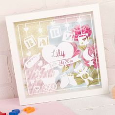 Personalised New Baby Frame | GettingPersonal.co.uk